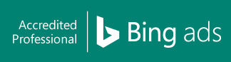 Bing Ads Accredited Professional badge.